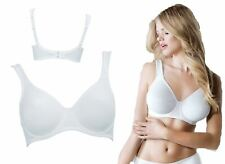 Womens Rosa Faia Twin Bra Full Cup Underwire Ladies 5490 White Various Sizes New