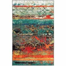 Mohawk Home Strata Eroded Color Multi Printed Area Rug