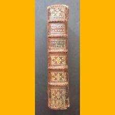 ALMANACH ROYAL, ANNÉE BISSEXTILE M. DCC. LXXII. 1772