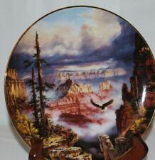 "The Danbury Mint Where Eagles Soar Plate 8"" #H 3189"