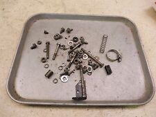 1981 honda xr80 enduro h1120-1~ misc hardware nuts bolts ect