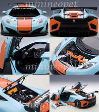 81343 McLaren MP4-12C GT3 Gulf 1 18 Autoart