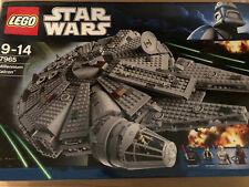 LEGO Star Wars Millennium Falcon (7965) komplett mit OVP Figuren Bauanleitungen