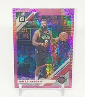 2019-20 Donruss Optic James Harden Pink Hyper Prizm Houston Rockets