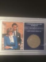 1981 Royal Wedding Comm. Coin Prince Of Wales Lady Diana Original Packaging