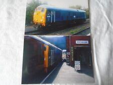 2 6x4 Photos of Class 24-D5081 at Loughborough Central Railway Station GCR