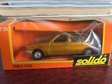 SOLIDO Simca 1308 (Gold) 1/43 Scale Diecast Model NEW, RARE