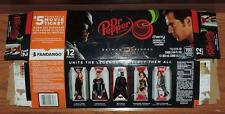 "2016 DR PEPPER CHERRY ""BATMAN v SUPERMAN"" WONDER WOMAN EMPTY 12-PAK CAN CARTON"