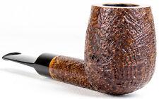 Unsmoked Former VERY BIG BILLIARD Rusticated tapered stem Pipe Pipa