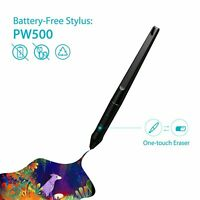 PW500 Battery Free Digital Drawing Stylus Pen for Huion Graphics Tablets Q11K V2
