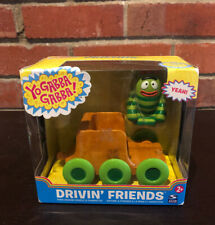 Yo Gabba Gabba Drivin' Friends Brobee Figure Train Car Figurine Car