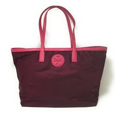 Tory Burch Nylon East West Tote - Cabernet - NWT - $295 MSRP!