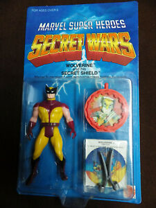 1984 MATTEL VINTAGE MARVEL SECRET WARS classic WOLVERINE