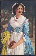 AX3829 Costume Brianzolo - Cartolina postale - Postcard