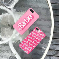 Barbie girl pink case For iPhone 6s Plus 7 8 Plus XS Max XR Girls Baby