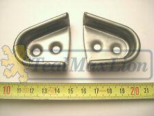 Jeu de 2 Cuvettes de Butées de Centrage de Portes G et D Peugeot 404 cc 504 cc