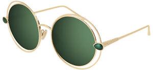 Occhiali da Sole Boucheron BC0029S Gold/Green 57/18/135 donna