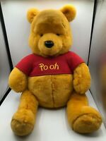 Large Disney Store Winnie The Pooh Bear Plush Kids Soft Stuffed Toy Animal