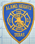 TEXAS, ALAMO HEIGHTS FIRE RESCUE PATCH