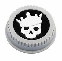BlackRapid LensBling Twist-On Rear Lens Cap - CANON - Skull/Crown  MPN: RAL12C10