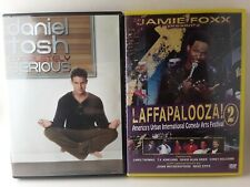 Comedy Dvd Lot: Daniel Tosh Completely Serious & Laffapalooza 2 ☆Free Shipping!☆