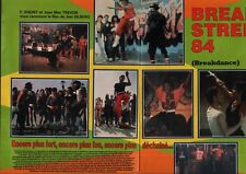 Coupure de presse Clipping 1984 Break Street 84 le Film Lucinda Dickey (4 pages)