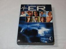 ER - The Complete Fourth Season DVD 2005 6-Disc Set Drama NR George Clooney