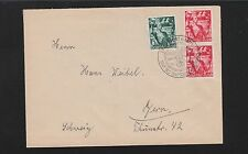 Germany Frankfurt 1 DAY ONLY Nazi 5th Anniversary & Stamps 1938 Cover 5q