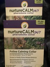 "Meridian NurtureCalm Feline Cat Pheromones Collar 15"" Problem Behaviors Calming"