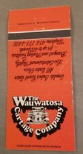 Vintage Matchbook The Wauwatosa Cartage Company Holiday Inn Milwaukee Wisconsin