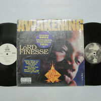 LORD FINESSE - THE AWAKENING LP 1995 ORIG DITC BIG L RAP w/ Instrumental Vinyl