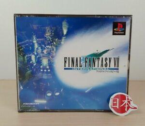 Final Fantasy 7 VII FF7 FFVII International Version PlayStation NTSC-J FREE SHIP