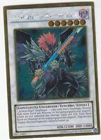 YU-GI-OH Schwarzflügel WAffenmeister Gold rare PGLD-DE078 NM