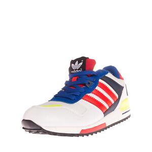 ADIDAS ORIGINALS Sneakers EU 40 UK 6.5 US 8 Contrast Leather Colour Block Pinked