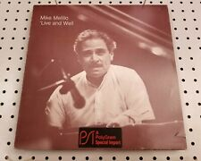 """1985 RED RECORDS (Italy) stereo LP #VPA 188 MIKE MELILLO: """"'Live & Well"""" JAZZ"""