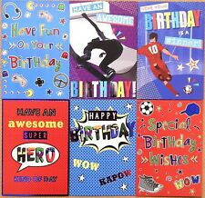 Boy's 3rd Birthday Card by Eclipse Cards. 12 Available - Multi Listing
