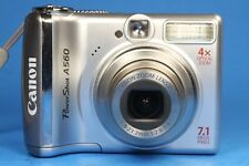 Canon PowerShot A560 7.1MP Digital Camera - Silver SEE TEST PHOTOS