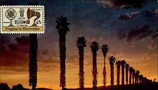 California Kalifornien Palms USA America AK ~1970 Postcard gelaufen Marke vorn