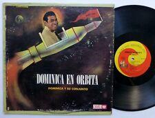 DOMINICA En Orbita LP Mary Lou 1015 merengue cumbia VG++ vinyl   Bx230