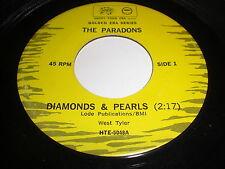 The Paradons: Diamonds & Pearls / I Want Love 45 - DooWop