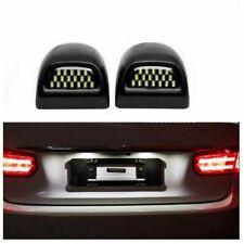 2Pcs 18 LED License Plate Light Lamp For Chevrolet Silverado GMC Sierra Cadillac