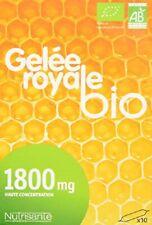 GELÉE ROYALE BIO 1800 MG HAUTE CONCENTRATION  10ML