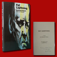 Fat Lightning by Howard Owen (1994,HC,1st) SIGNED BRAND NEW