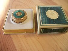 VINTAGE 1967 Avon Regence Solid Perfume Glace Compact