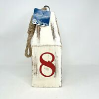Apropos Home Collection Sand Sea Decor Vintage Style Number 8 Buoy Coastal Beach