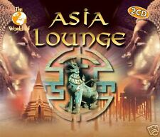 CD ASIA LOUNGE THE WORLD OF d'Artistes Divers 2CDs