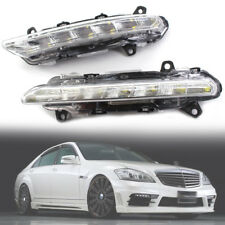 LED DRL Daytime Running Fog Light Left Right For Mercedes Benz W221 C250 R350 S-