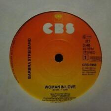 """Vinilo Barbra Streisand (7"""") Mujer enamorada-CBS-CBS 8966-Países Bajos-EX/casi como nuevo"""