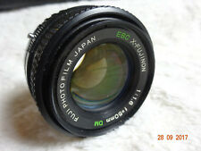 Fuji EBC X-Fujinon 50mm F1.6 DM Lens ( rare ). optics need DIY Clean