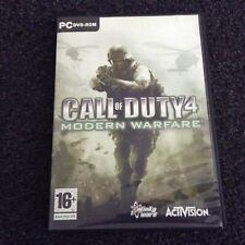 Call of Duty 4: Modern Warfare (PC: DVD ROM -Mac, 2007)